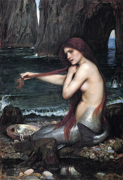 Waterhouse Mermaid - Atlas Obscura